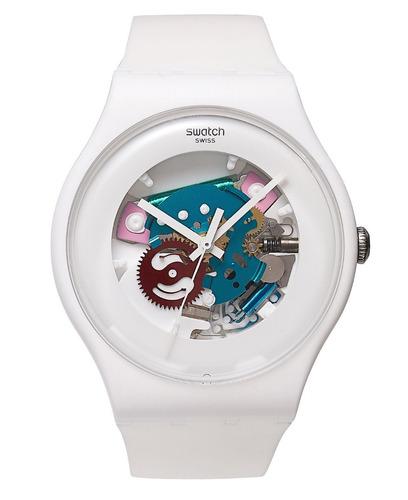 Reloj Swatch Modelo Suow100  Resistente Al Agua Original