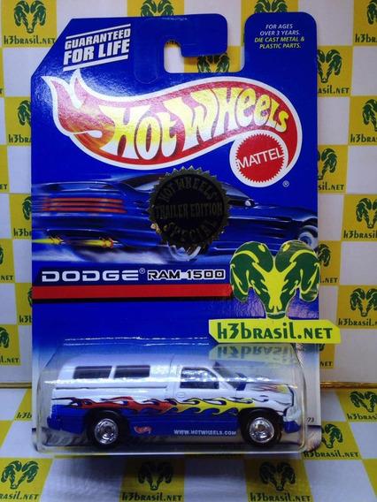 Bx132 Hot Wheels 1998 Trailer Truck Pickup Dodge Ram 1500 H3