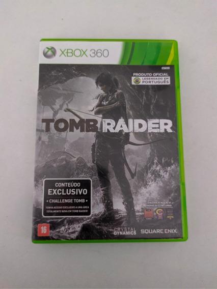 Jogo Tomb Raider Mídia Física Xbox 360