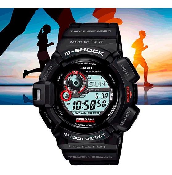 Relógio Casio G-shock Mudman G-9300-1dr Preto