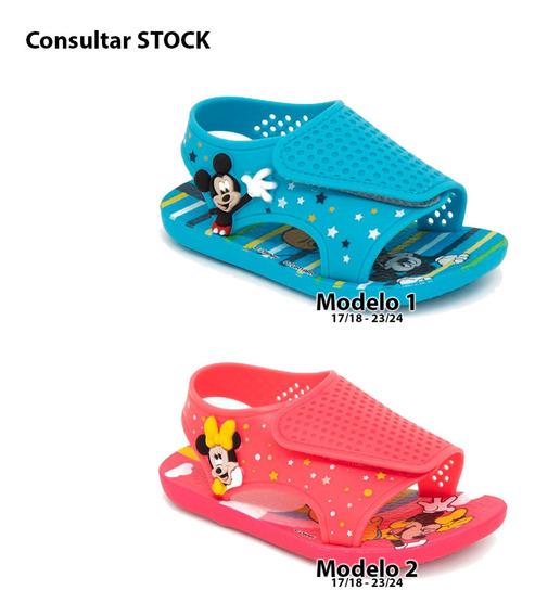 Sandalias Minnie Mickey Disney Original Ct Mmk Sandmk