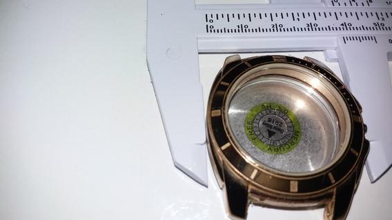 Caixa De Relógio Tommy Helfiger Dourado Lindo. Feminino