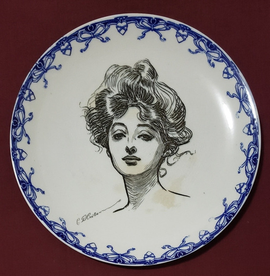 Plato De Colección Royal Doulton Serie Las Chicas De Gibson