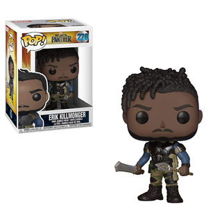 Erik Killmonger #278 - Black Panther Funko Pop - Sheldortoys