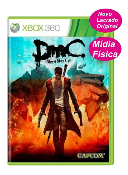 Devil May Cry Dmc Jogo Original P/ Xbox 360 Bloqueado Físico