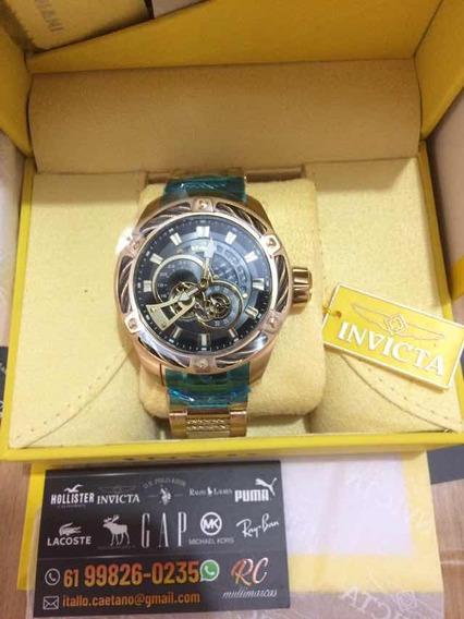 Relógio Masculino Invicta Bolt Automatic Mod26775 100% Orig