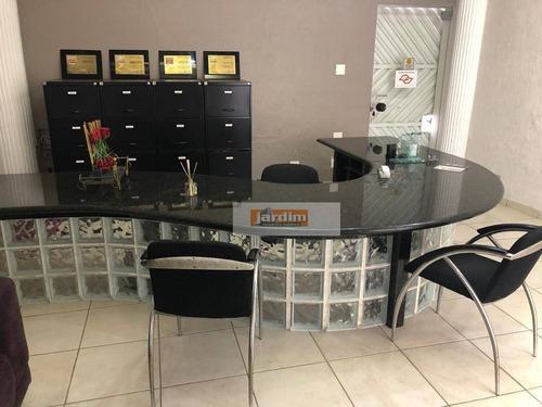 Imagem 1 de 16 de Sobrado Comercial, 220 M², 10 Salas E 4 Wc - Á Venda Ou Locação - Jardim Do Mar - São Bernardo Do Campo/sp - So2907