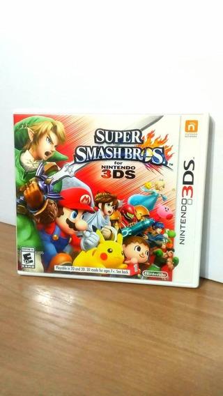 Super Smash Bros 3ds Seminovo