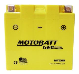 Bateria Moto Honda Pcx 150 Xre300 6 Amperes Cg 150 Mix Mtz6s