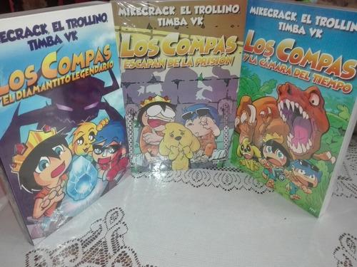 Imagen 1 de 9 de Coleccion Los Compas 1-2-3 Por