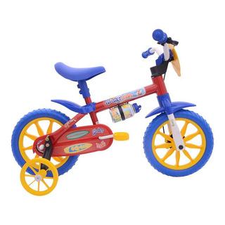 Bicicleta Infantil Aro 12 Masculino Nathor Cairu Water Man