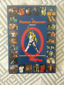 Livro Revista The Freddie Mercury Tribute