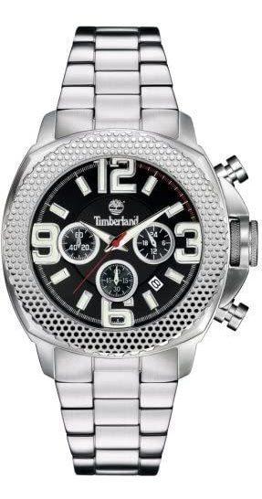 Relógio Timberland Gents 46mm Caixa De Aço, Moldura De Aço