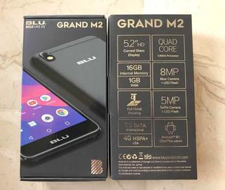 Teléfono Blu Grand M2 Dual Sim 1 Gb Ram + 16 Gb Rom Obsequio