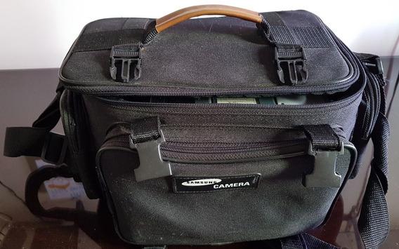 Bolsa Para Camera Com Compartimentos, Alça E Divisória