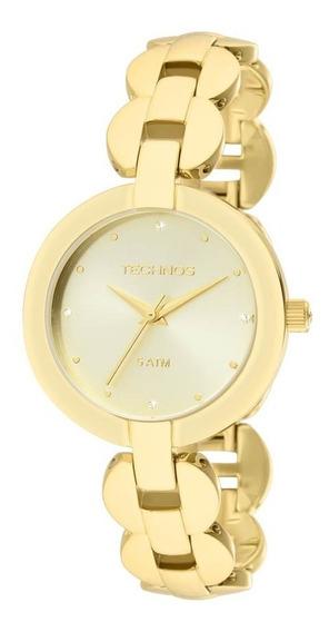Relógio Technos 2035lvg/4x - Feminino Dourado 12x Sem Juros