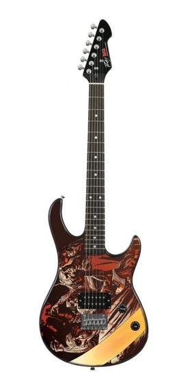 Guitarra Rock Master Peavey Walking Dead Zombies