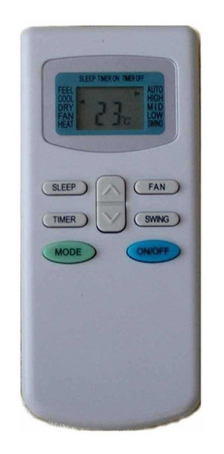 Control Remoto Aire Acondicionado Tcl - James - Enxuta