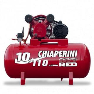 Compressor De Ar 10/110 Red 2hp 140libras Chiaperini