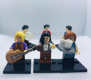 Set Tv Show Friends Figuras Tipo Lego Nuevos Envío Gratis