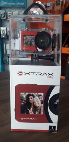Câmera Esportiva Xtrax Selfie Vermelha