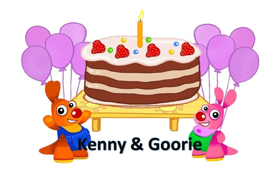 Kit Imprimible Kenny Y Goorie Baby Tv