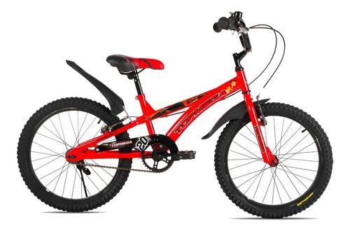 Bicicleta Bmx Niños Varon Top Mega Cross Rodado 20 Cuotas