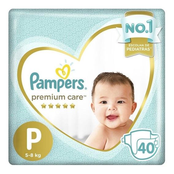 Fralda Pampers Premium Care Mega Tamanhos P, M, G E Xg