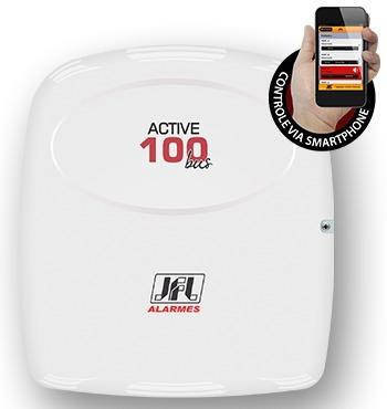 Central De Alarme Monitorável Active-100 Bus Modular Jfl