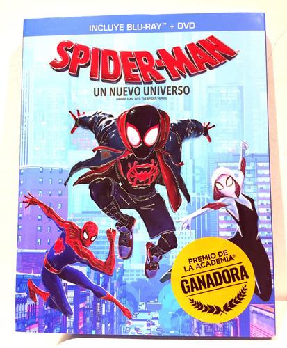 Spider-man: Un Nuevo Universo Bluray + Dvd Nuevo Original