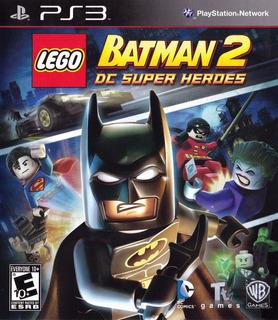 Lego Batman 2: Dc Super Heroes, Ps3 Digital