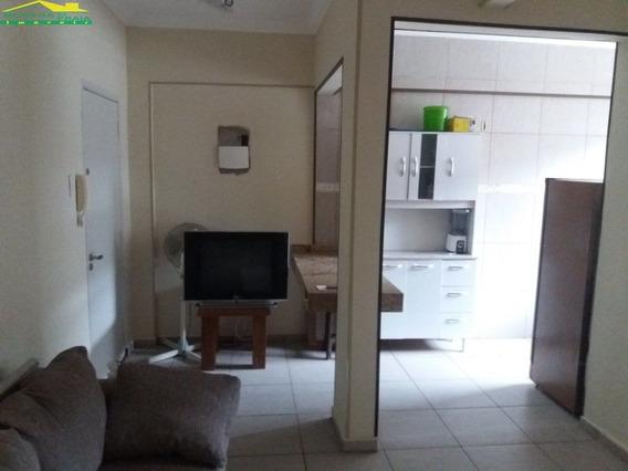 Kitnete Mobiliada No Canto Do Forte. 1 Vaga, Confira Na Imobiliária Em Praia Grande. - Mp10136