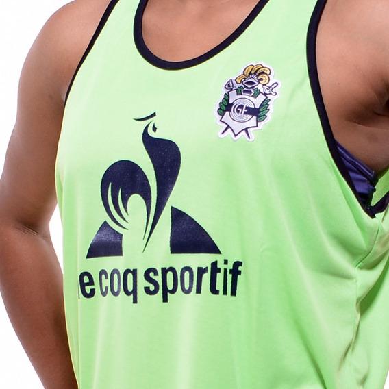 Camiseta Gimnasia La Plata (gelp) - Le Coq Sportif 2017 Verde Musculosa Pechera - Nueva - En La Plata