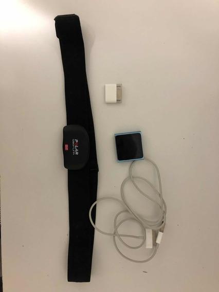 iPod Nano 6 Geração + Medidor Cardíaco Polar Nike +