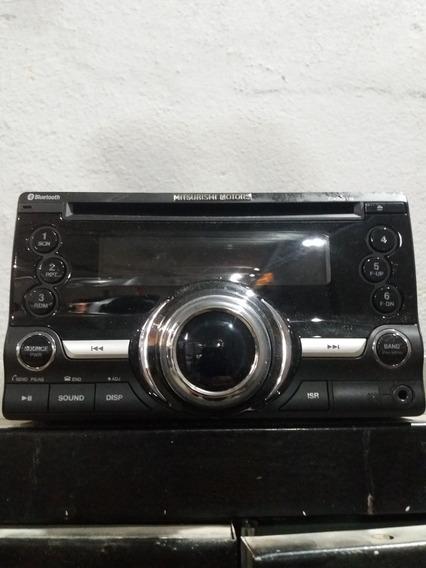 Rádio Cd Mitsubishi Asx 2015 Usado Em Ótimo Estado