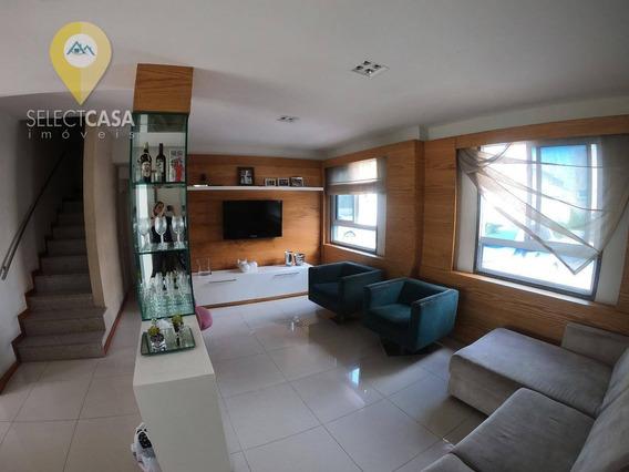 Casa 3 Quartos No Condomínio Aldeia De Manguinhos Na Serra - Ca0135