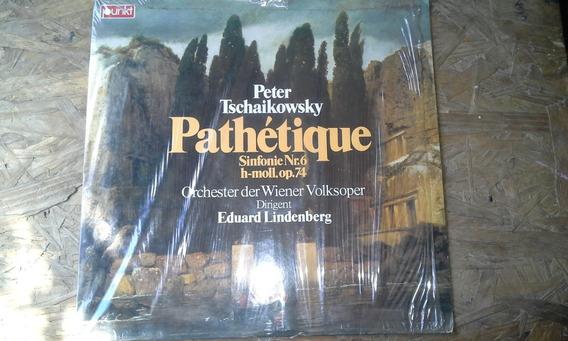 Disco De Vinilo Pathetique Peter Tschaikowsky 1975