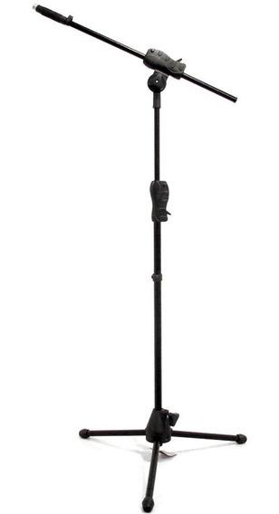 Kit 10 Pedestais Suporte Microfone Ibox Smmax Trava Rápida
