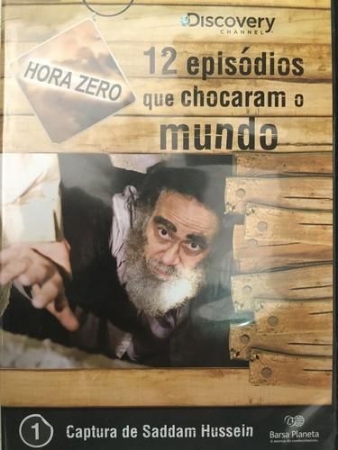 Imagem 1 de 3 de Box Hora Zero 12 Dvds Episódios Que Chocaram O Mundo Barsa