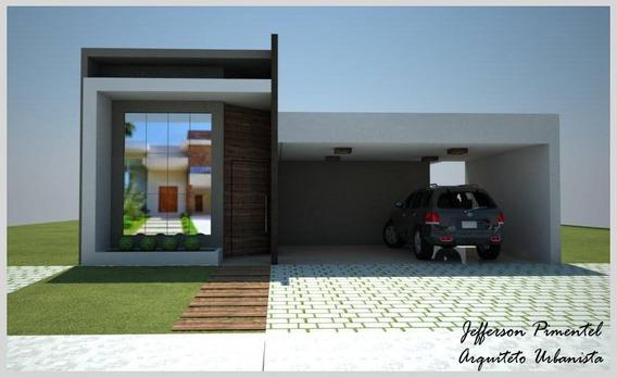 Casa Térrea Na Planta / Cond. Portal Bragança Ca-355