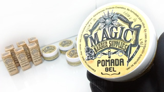 Pomada Cabello Magic Fijación Media Efec Mate X100m Barbería