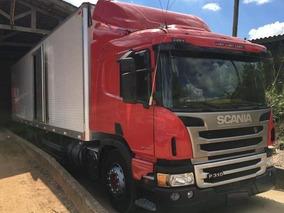 Scania P 310 Bitruck Ano 2015 Com Baú