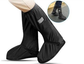 Botas Impermeables Cubre Calzado Protección Contra Lluvias Motociclistas Y Ciclistas