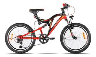 Bicicleta Mountain Bike Aurora Dsx Doble Susp R20 Cuotas