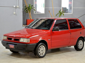 Fiat Uno 1.3 Con Gnc 3 Puertas 2000 Color Rojo