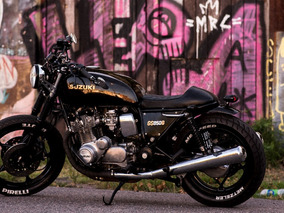 Suzuki Gs850 Cafe Racer Street Fighter - Unica En Argentina