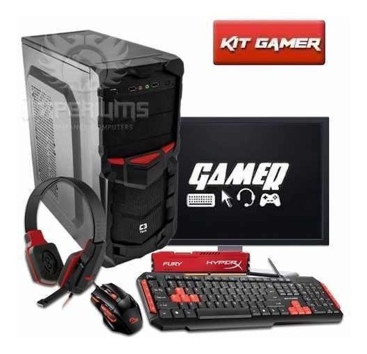 Pc Gamer Completo Amd A4 4000 3.0ghz 1mb Radeon Hd 7480d Bf4