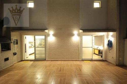 Sobrado Com 3 Dormitórios À Venda, 155 M² Por R$ 1.200.000,00 - Vila Andrade - São Paulo/sp - So0072