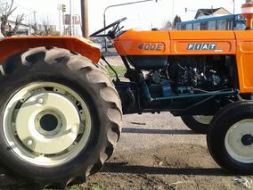 Tractor Fiat 400 E Con Levante Hidráulico De 3 Puntos