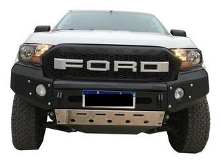 Bumper Paragolpe Reforzado Negro Ford Ranger